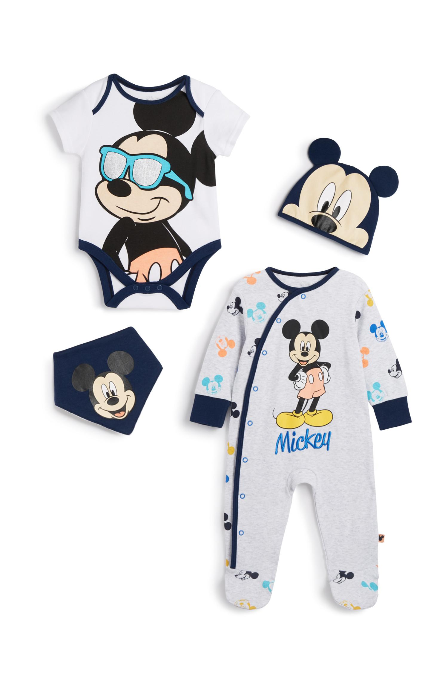 Mickey Mouse 4Pc Outfit Set