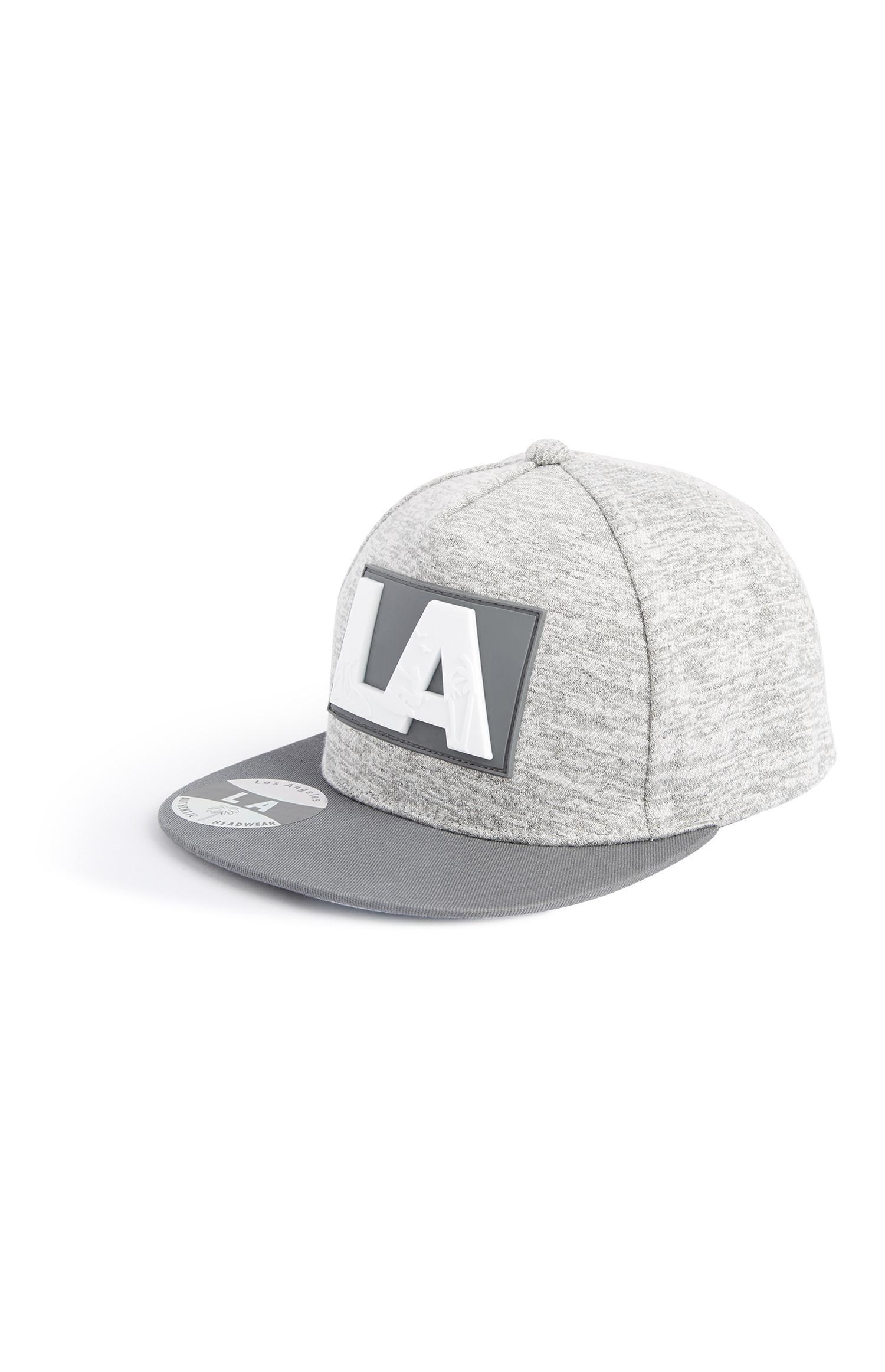 """Graue """"LA"""" Cap"""