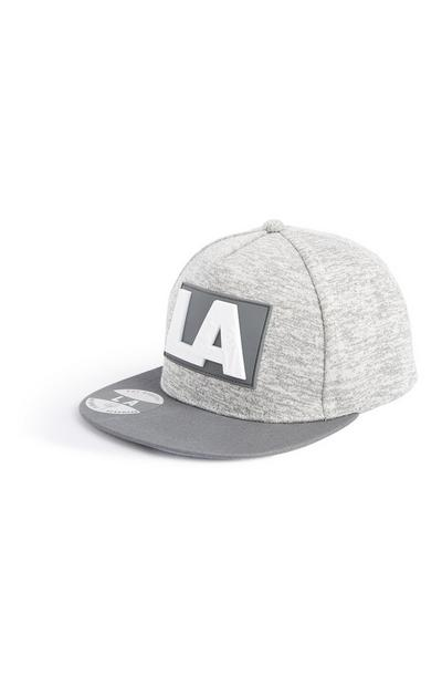 Grey LA Surf Cap