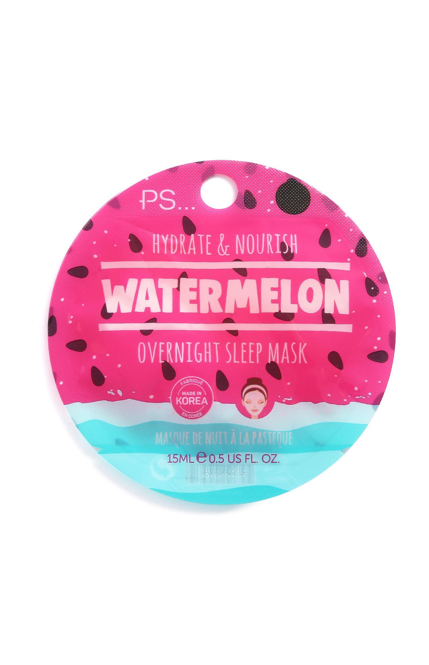 Maschera viso da notte Watermelon