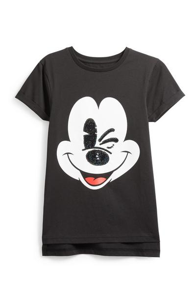 Older Girl Mickey Mouse T-Shirt