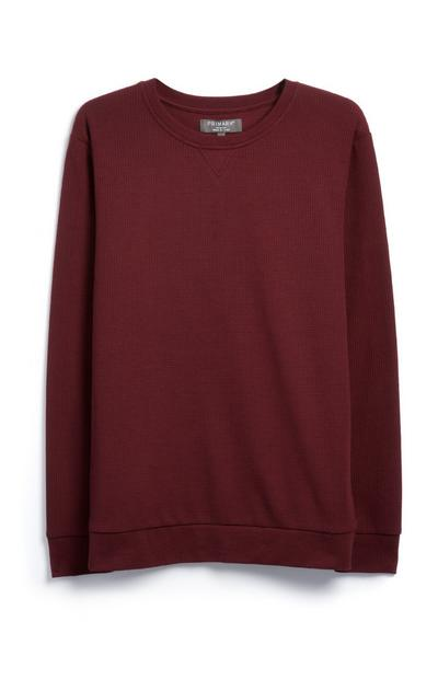 Red Crew Top