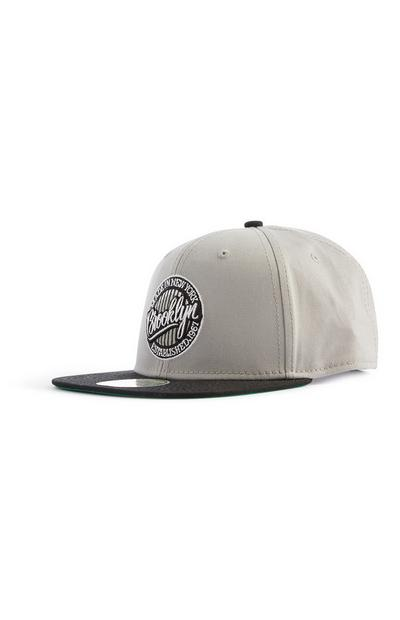 Grey Brooklyn Cap