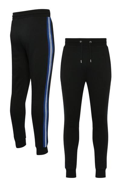 Black Side Stripe Jogger