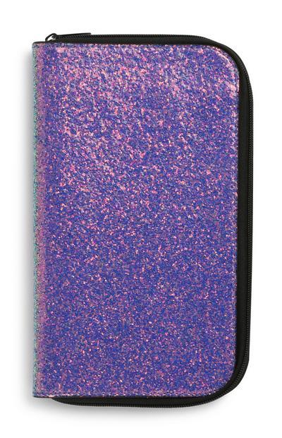 Glitter Zip Case