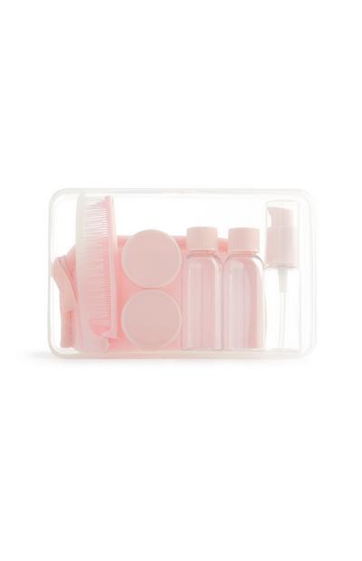 Pink Travel Set