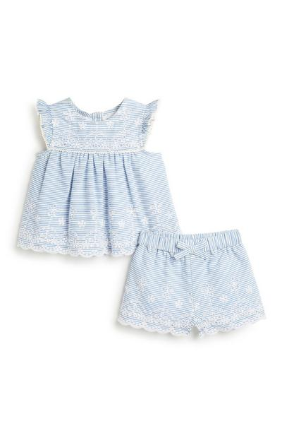 Baby Girl Stripe Co-Ord