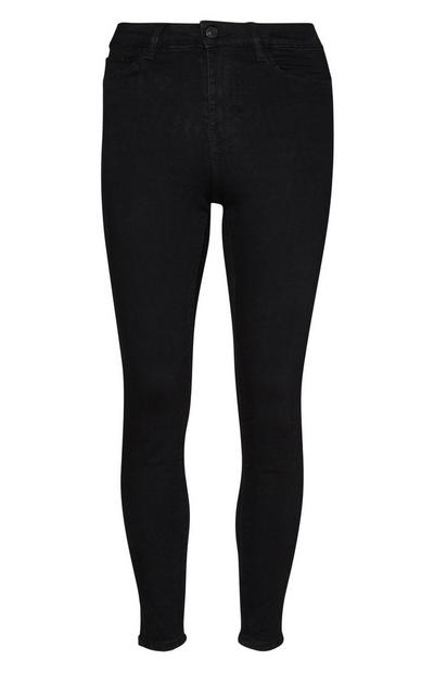 High Waist Black Skinny Jean
