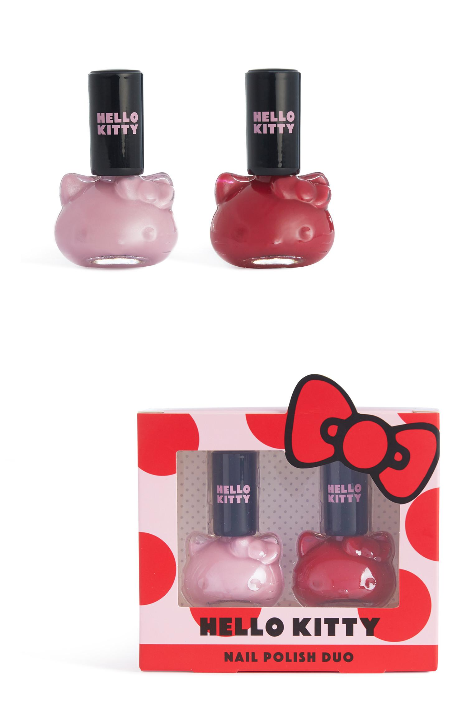 Hello Kitty Nail Polish 2Pk
