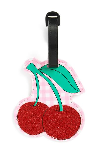 Cherry Luggage Tag