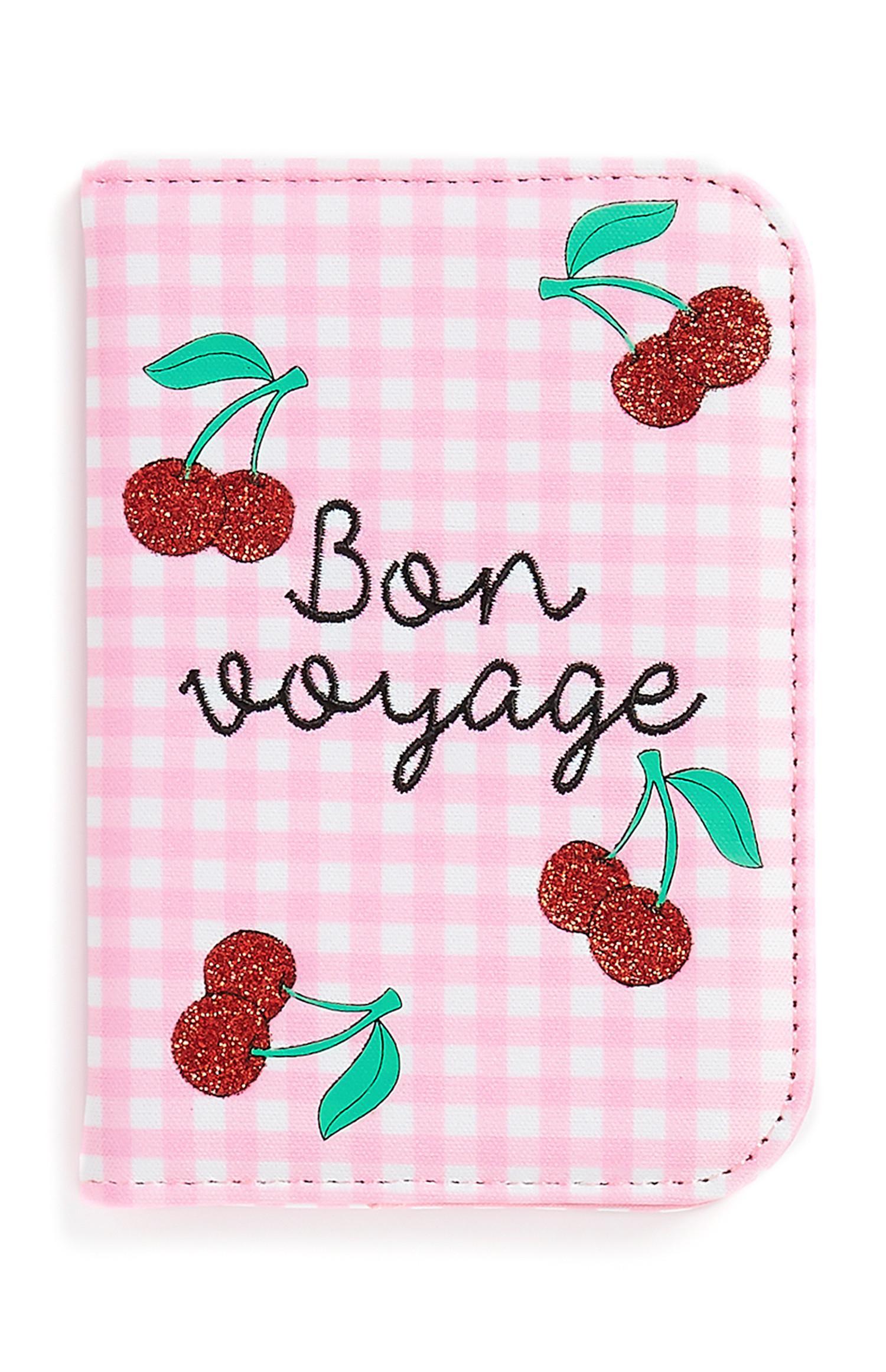Cherry Passport Cover