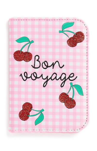 Cherry Passport Cover