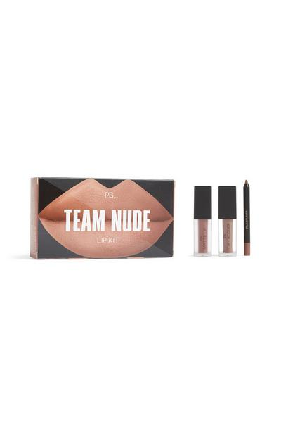Team Nude Lip Kit