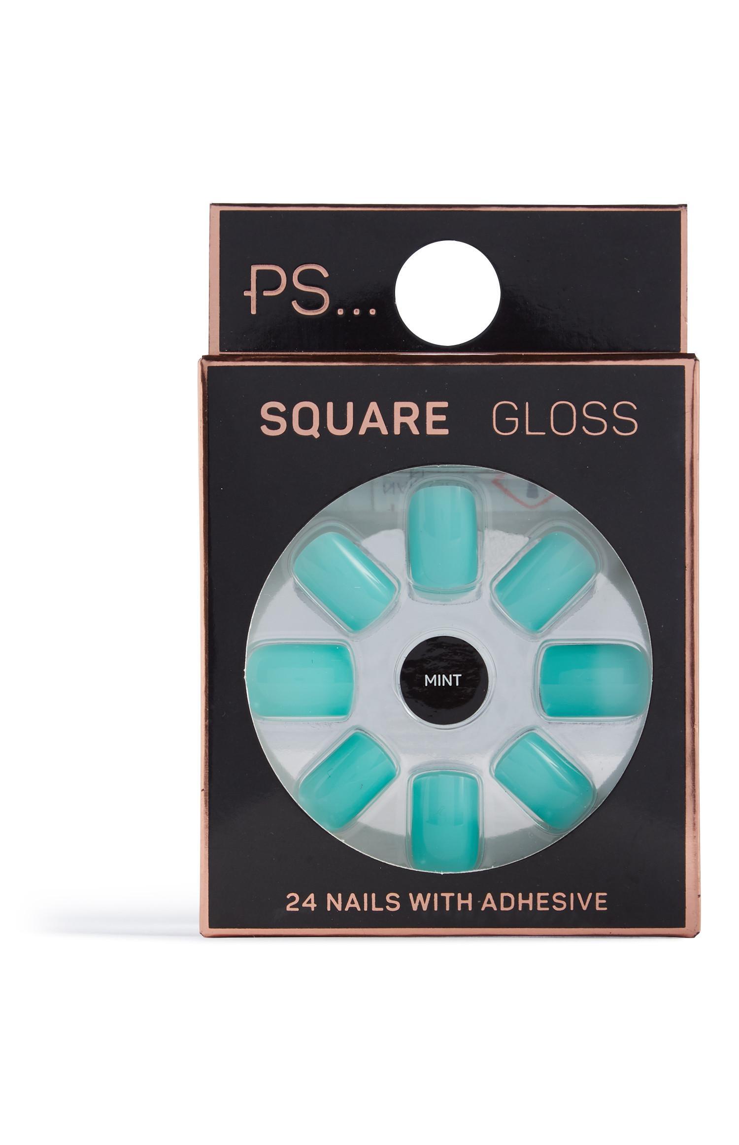 Vierkante nagels