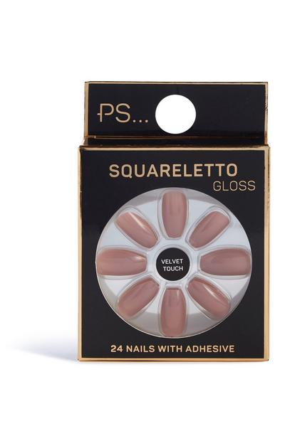 Squareletto Gloss Nails