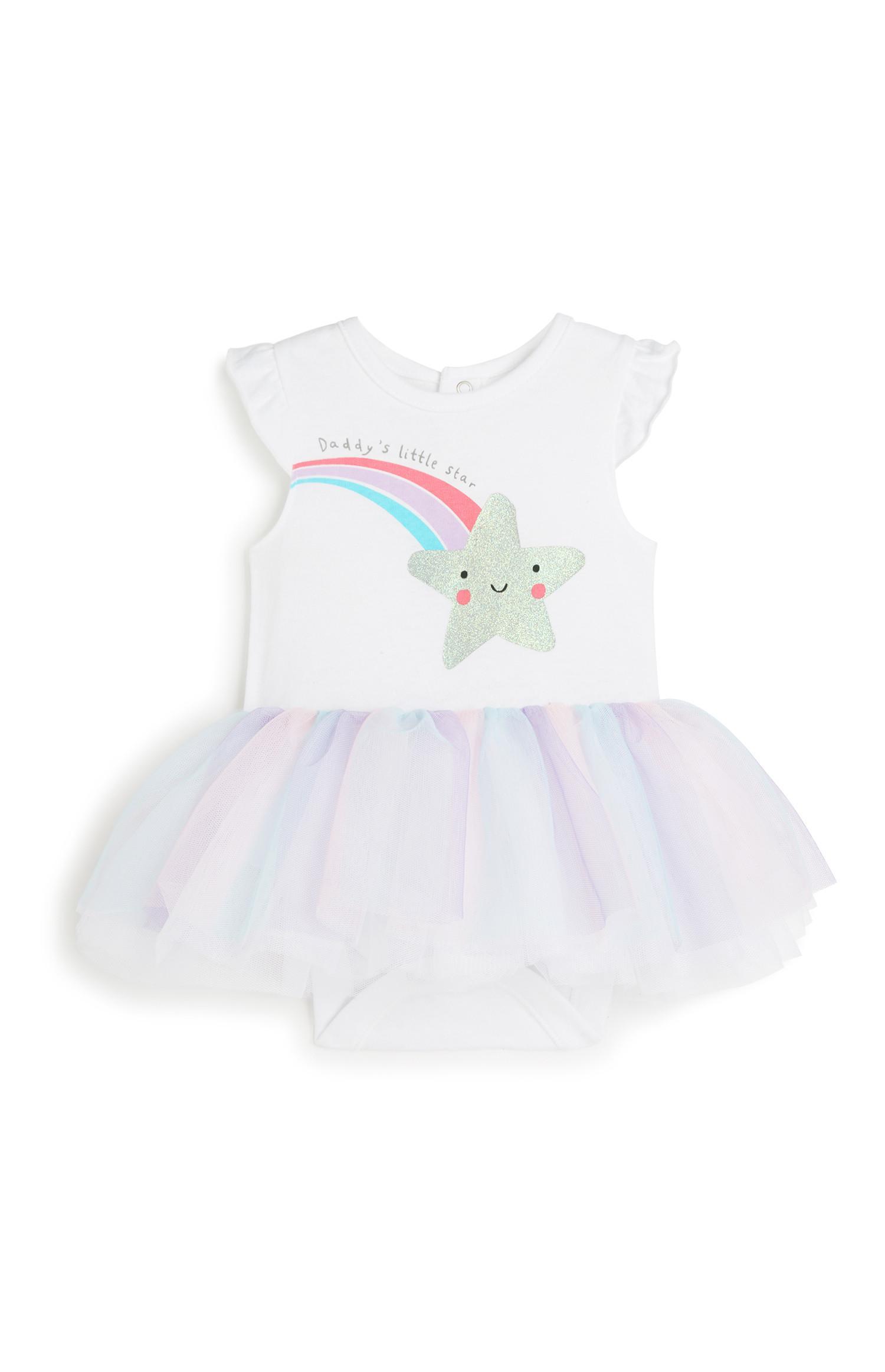 Baby Girl Tutu Bodysuit