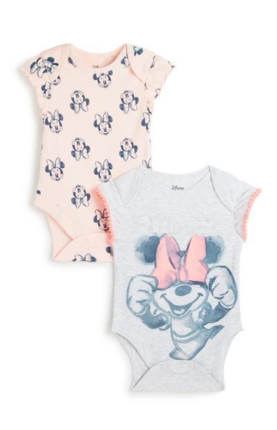 Minnie Mouse Bodysuit 2Pk