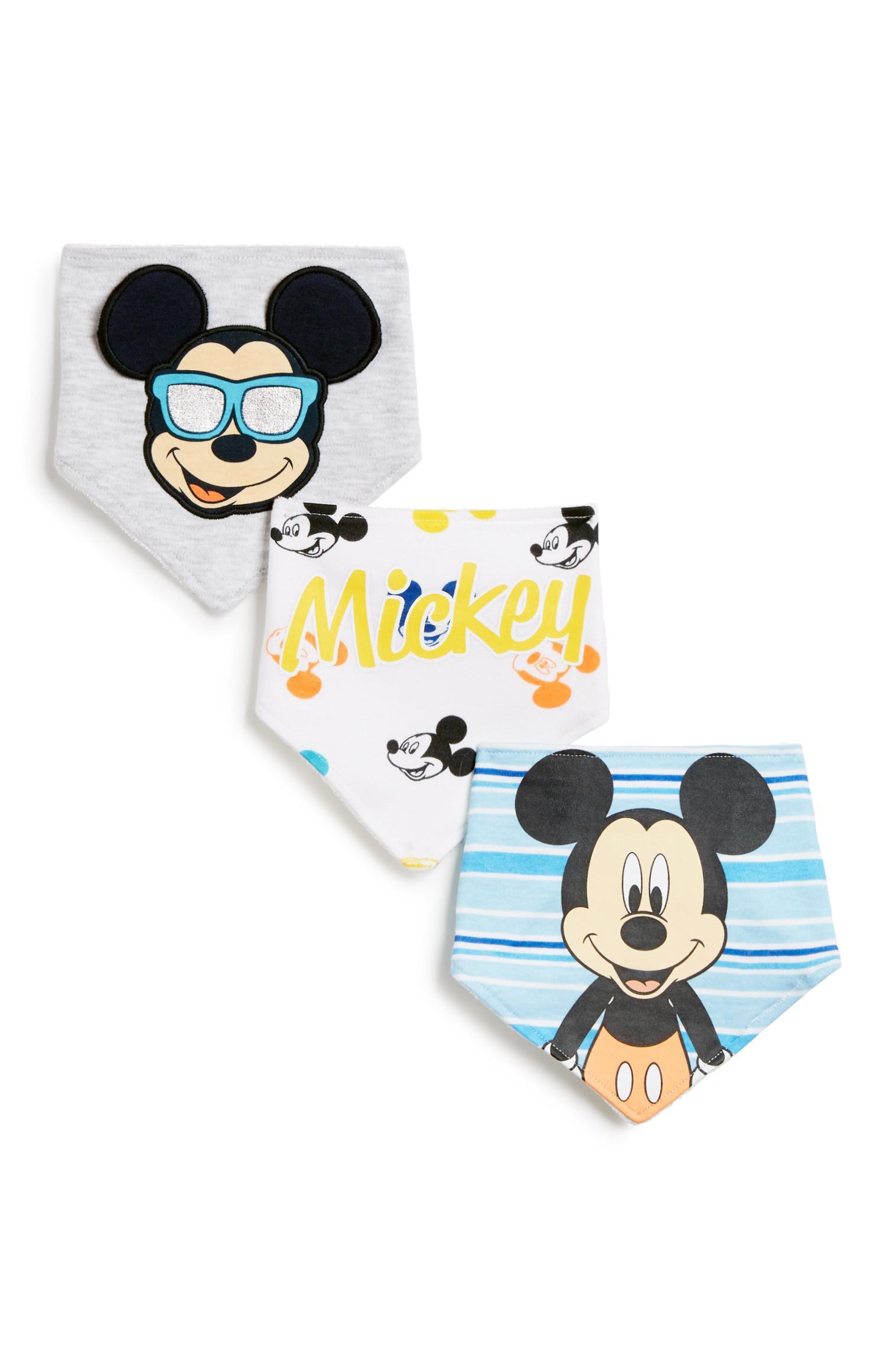 Mickey Mouse Bandana 3Pk