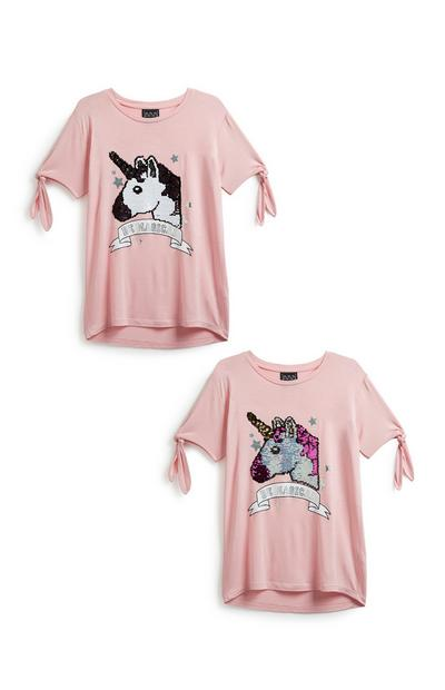 Older Girl Unicorn T-Shirt