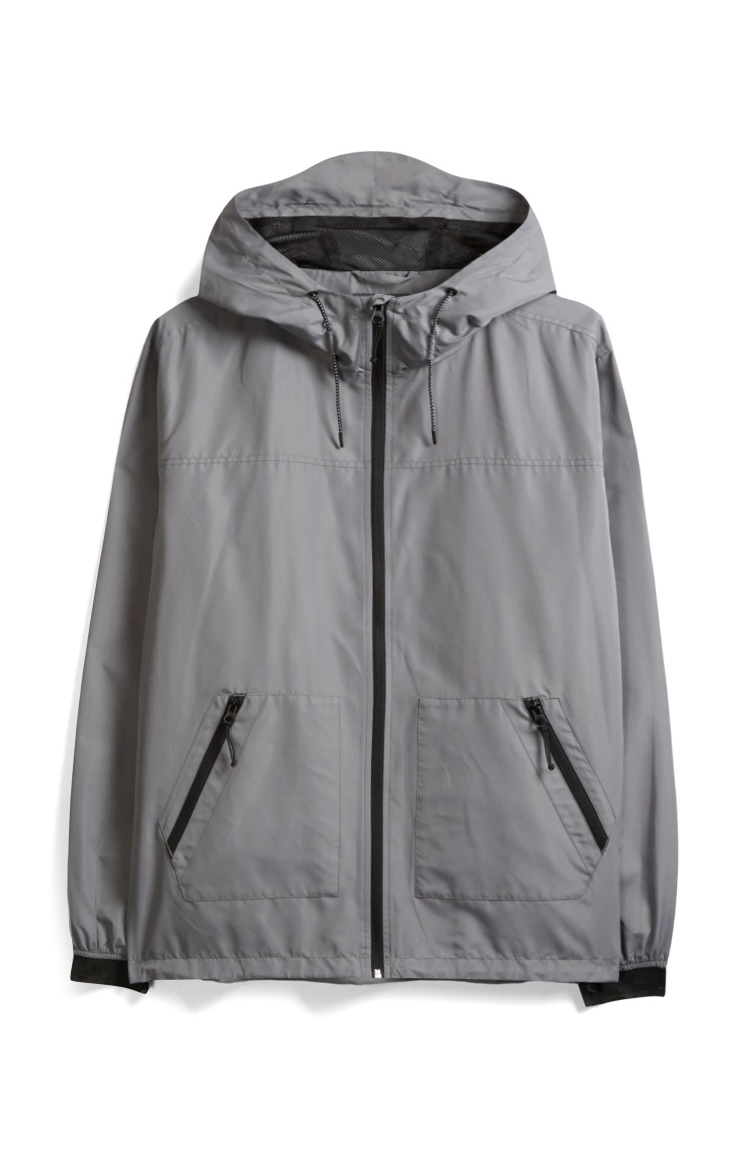 Grey Zip Jacket