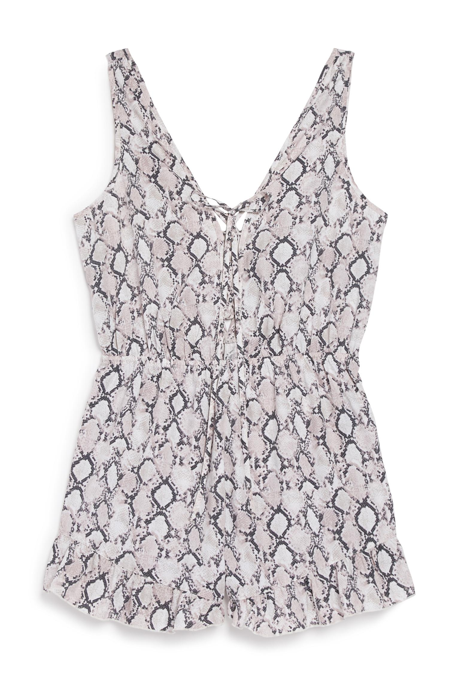 Snake Playsuit