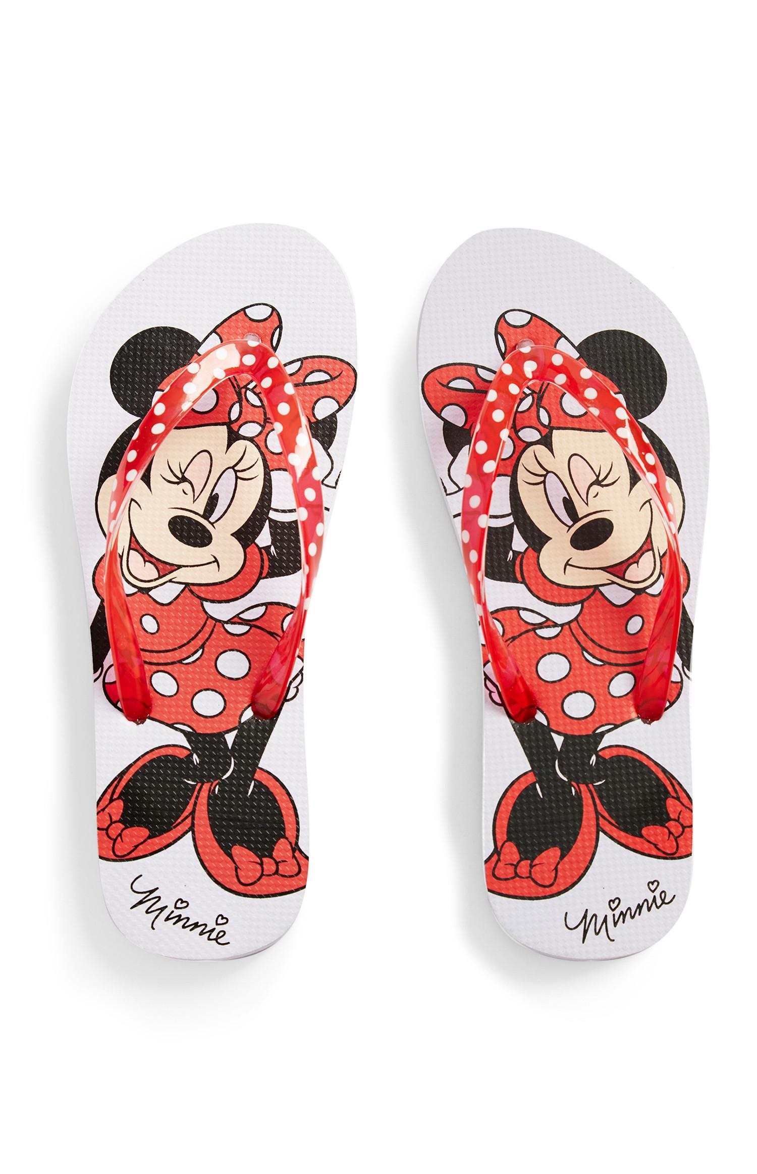 Chinelos dedo Minnie Mouse