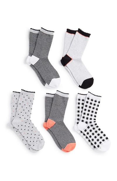 Long Socks 5Pk