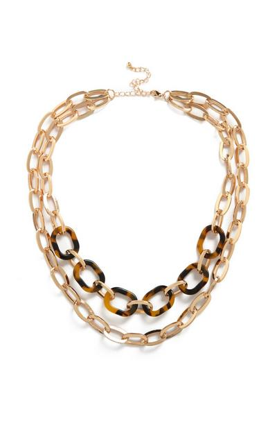 Double Layer Chain Necklace