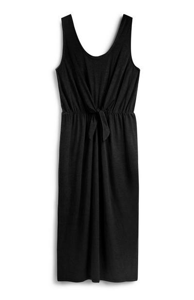 Black Tie Waist Dress