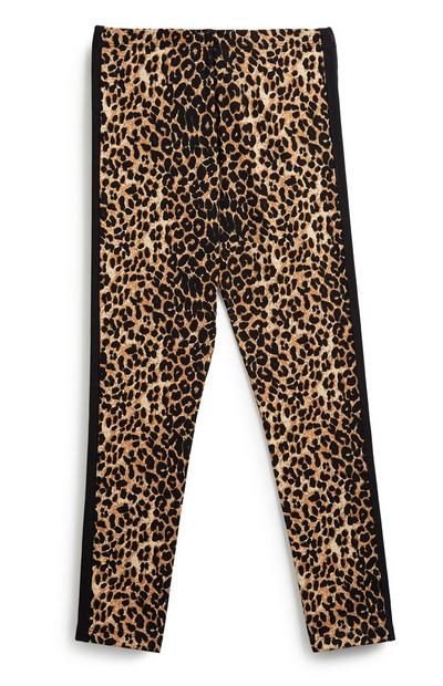 Older Girl Animal Print Legging