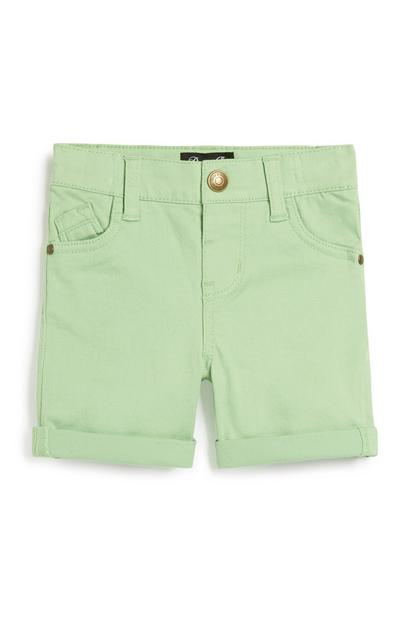 Baby Boy Lime Short