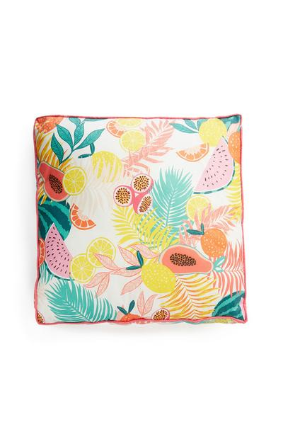 Fruit Print Cushion