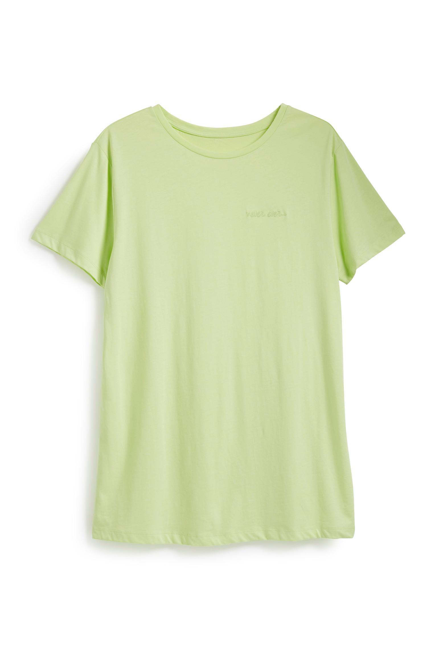 Oversized neonkleurig sweatshirt