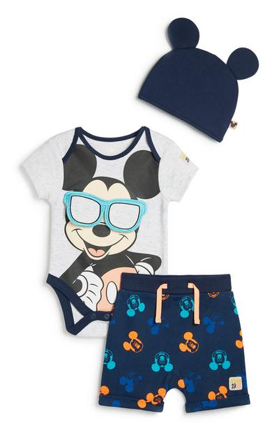 Mickey Mosue 3Pc Outfit Set
