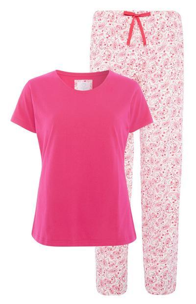 Pink Pyjama Set