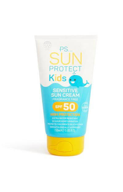 Kids Sensitive Sun Cream SPF50