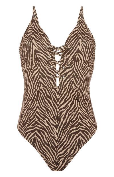 Zebra Swimsuit