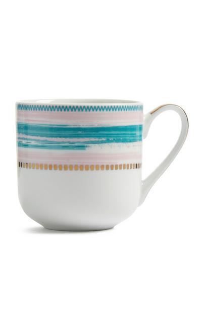 Ceramic Stripe Mug