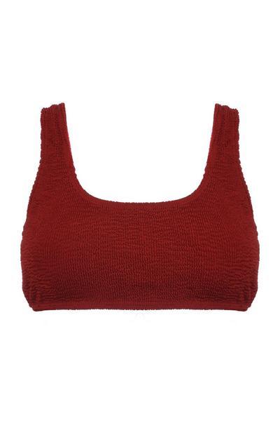 Terracotta Bikini Top