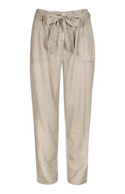 Stone Belted Trouser