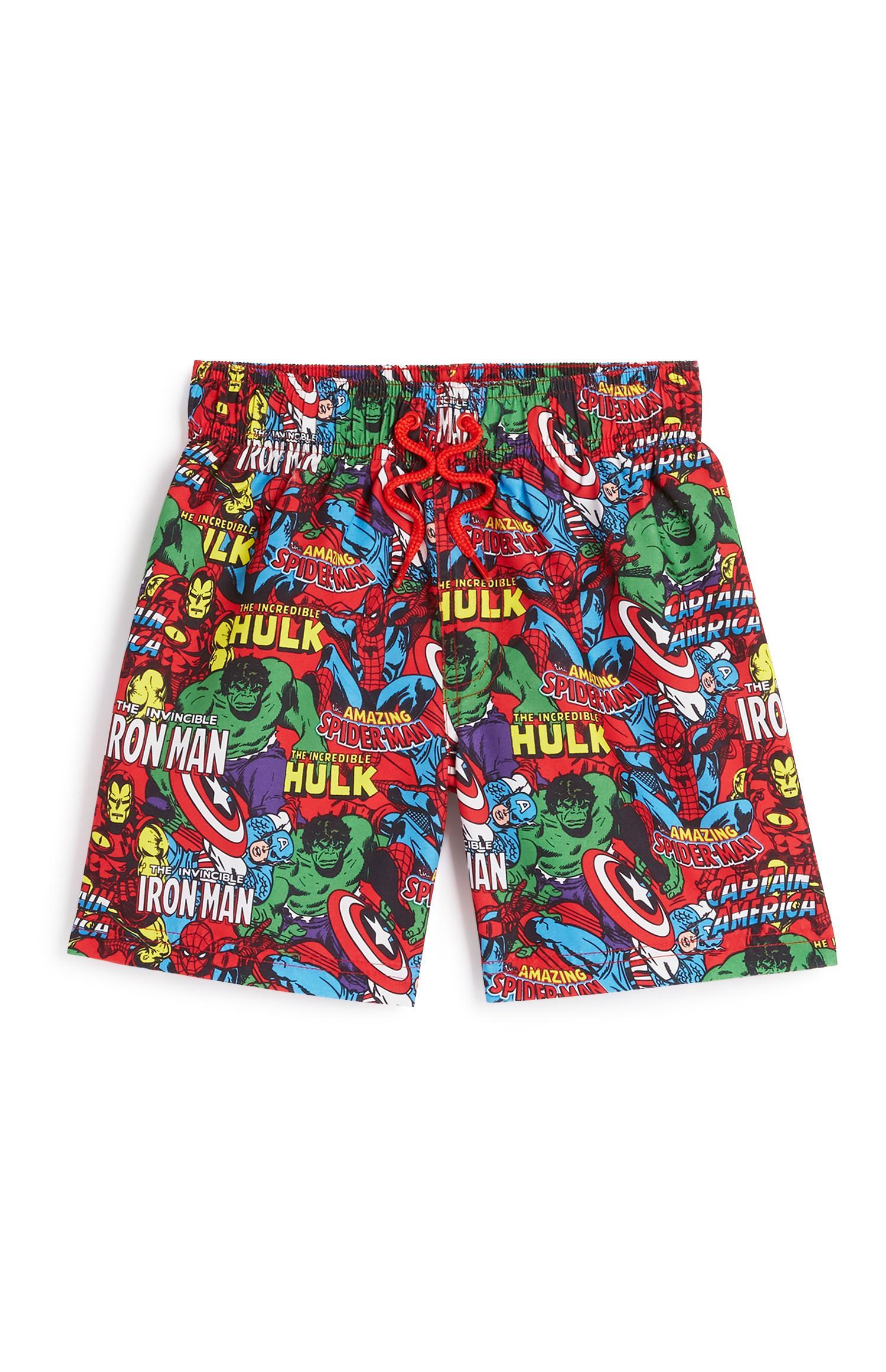 Younger Boy Marvel Shorts