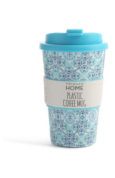 Blauer Kaffeebecher