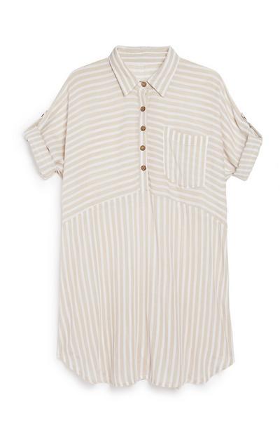 Stripe Tunic Top