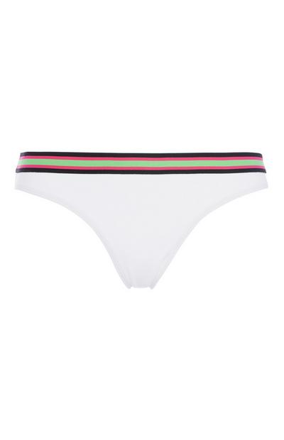 Stripe Sport Bikini Brief