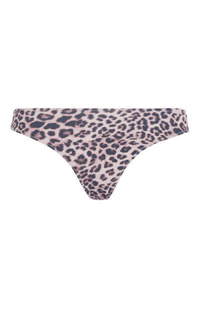 Leopard Bikini Brief