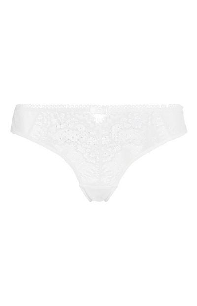 Ivory Diamante Brief