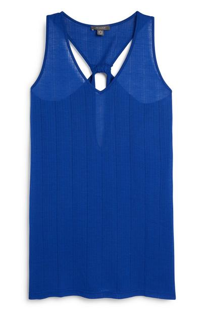 Blue Beach Dress