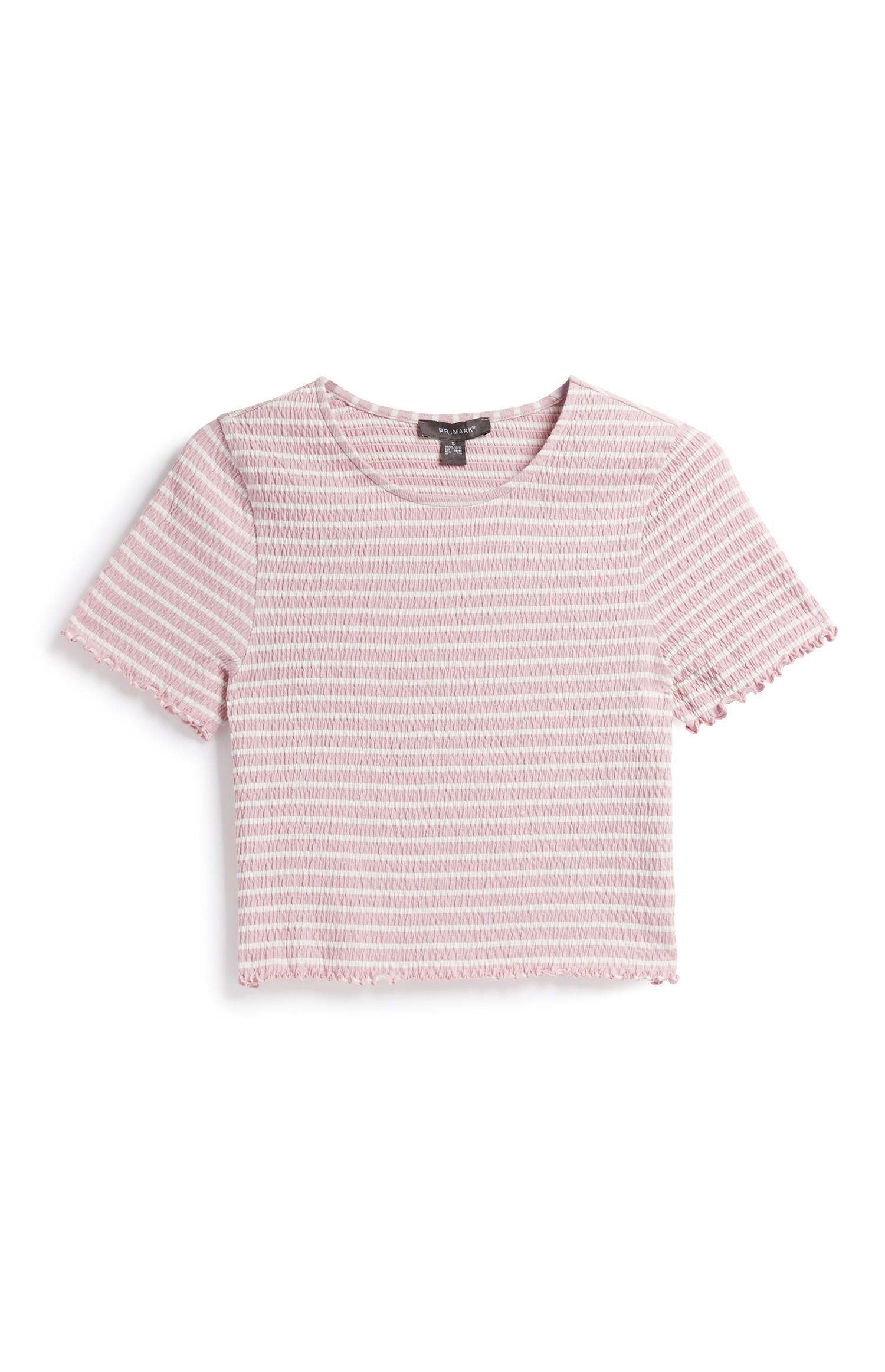 Stripe Crinkle Top