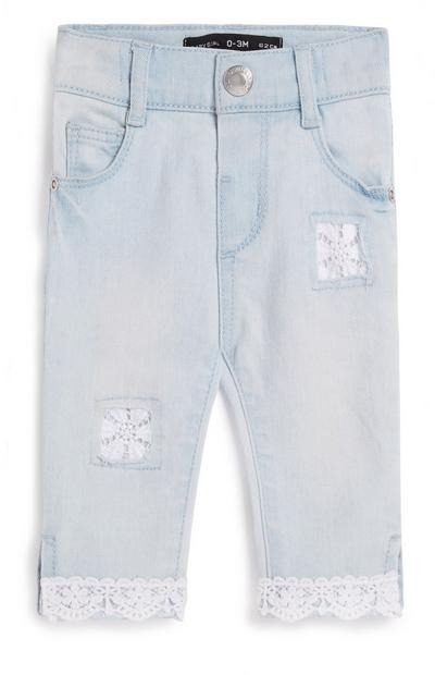 Baby Girl Lace Jeans