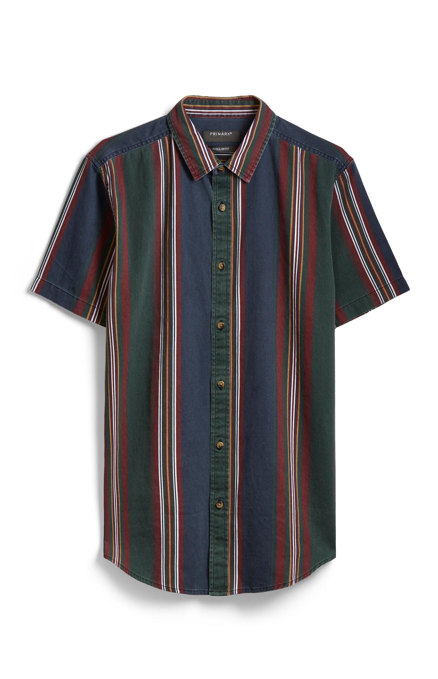 Short Sleeve Stripe Shirt
